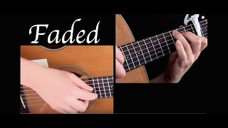 Kelly Valleau  - Faded (Alan Walker) - Fingerstyle Guitar