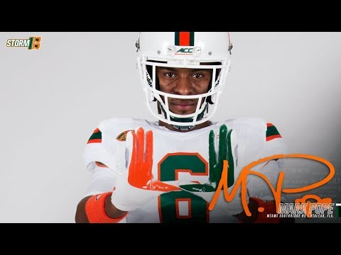 Miami Hurricanes 1 Wide Receiver Secondary Depth Chart Markrogerstv College Football