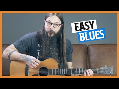 Blues Shuffle Lesson for Beginners - Learn to Play Guitar