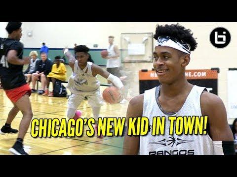 Adam Miller Putting Chicago on Notice! Big, Fast Guard!