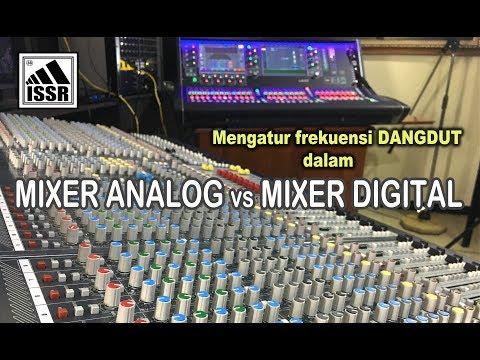 Bandingkan Mixer Dangdut Analog vs Dangdut Digital