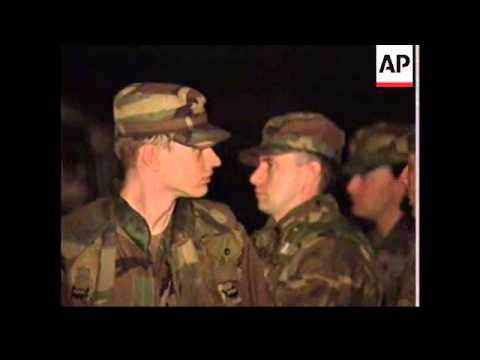 ITALY/CONGO: US TROOPS PREPARE TO EVACUATE AMERICANS FROM ZAIRE