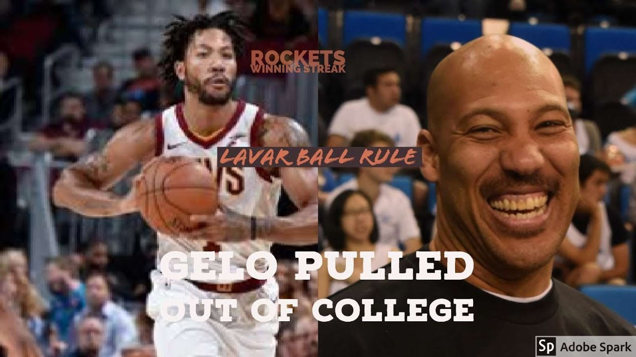 dfcd02950d81 LiAngelo quits College  DERRICK ROSE IS RETURNING TO CAVS NBA 17-18 SEASON  NEWS