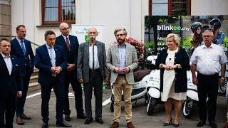 Blinkee.city w Ostrowi Mazowieckiej. Ruszył pilotażowy projekt wypożyczenia skuterów
