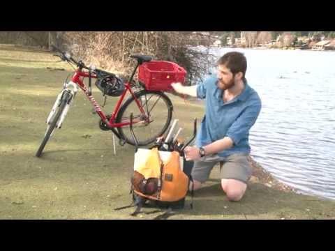 Alpacka Gnu packraft - inflatable drift boat set up