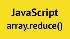 JavaScript Array Reduce