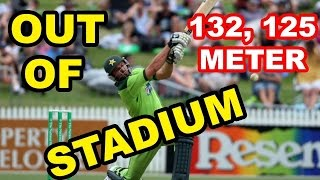 Biggest sixes in Cricket history!!!
