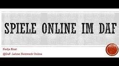 Online Spiele im Deutschunterricht