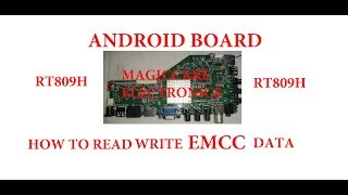 ANDROID BOARD MSD338STV5.0 EMMC PROGRAMMING USING RT809H BIOS PROGRAMMER BY MAGICCARE ELECTRONICS.