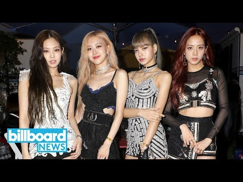 """blackpink-perform-""""kill-this-love""""-and-play-game-of-""""flinch""""-on-'late-late-show'- -billboard-news"""