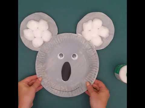 Australia Day Australian Animal Paper Plate Crafts