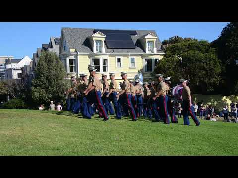 US Marine Corps Band in San Francisco
