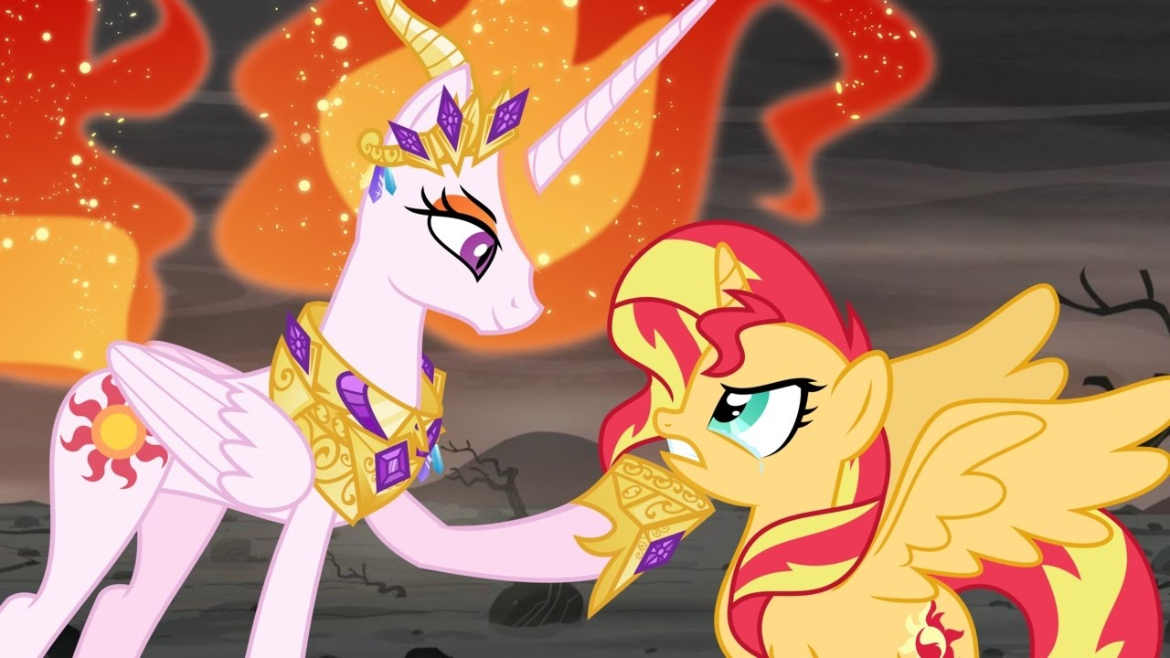 MLP Celestia Is The True Villain