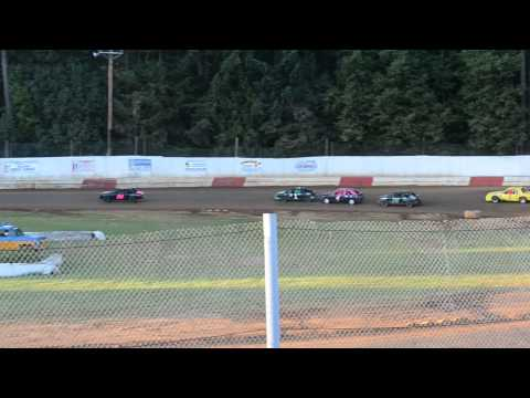 River City Speedway - St.  Helen's Oregon 07/06/2013 4 Cylinder B Main