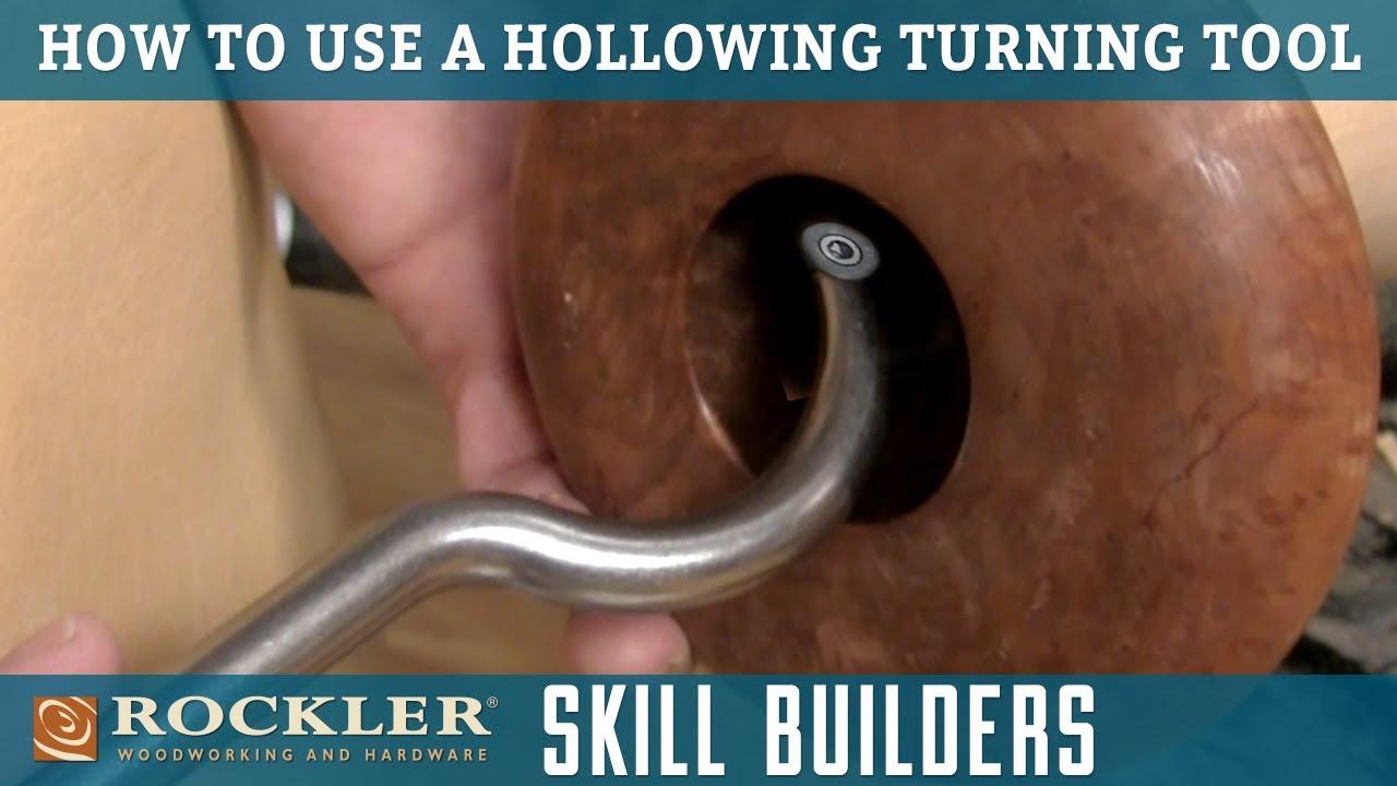 Full-Size Ergonomic Carbide Turning Tool Hollowing