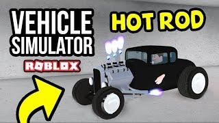 HOT ROD UPDATE in Roblox Vehicle Simulator