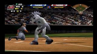 MLB Slugfest 2003 - Season Mode  - Division Series (Game 4)