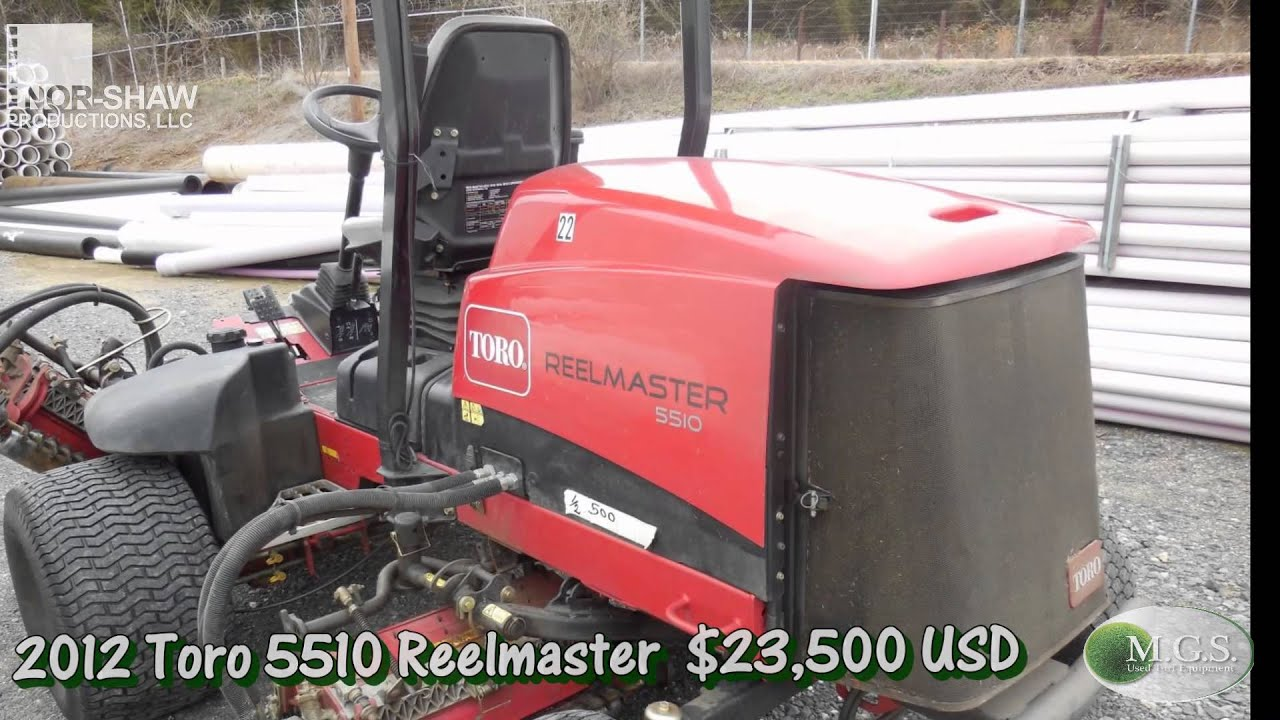 Toro 5510 Reelmaster Fairway Mower