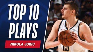 Nikola Jokic Top 10 Plays of the Year! 🃏