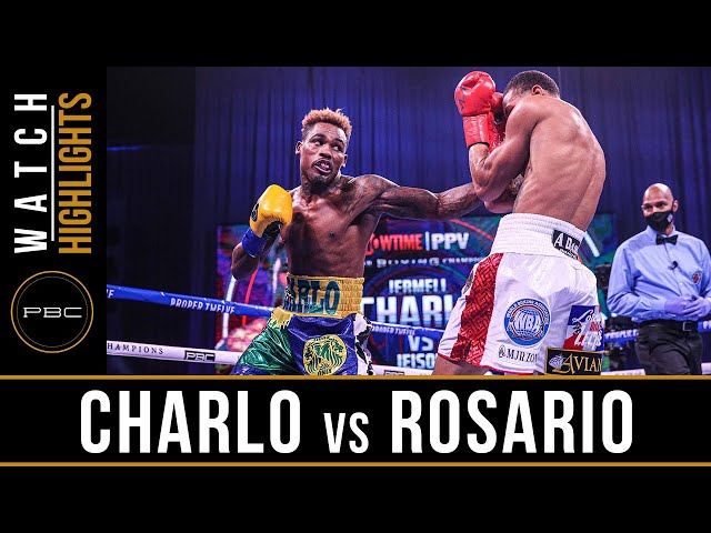 Charlo vs Rosario HIGHLIGHTS: September 26, 2020 | PBC on SHOWTIME PPV