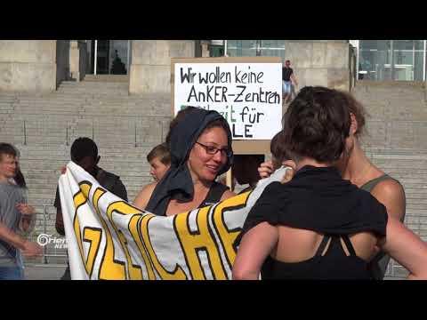 خلافات داخل الحكومة الألمانية حول ملف اللاجئين  - 22:21-2018 / 6 / 21