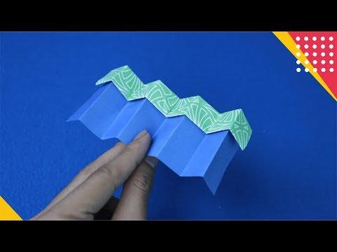 WOW! INOVASI PESAWAT ORIGAMI UNIK SEPERTI INI BISA TERBANG LEBIH JAUH - how to fold plane Origami
