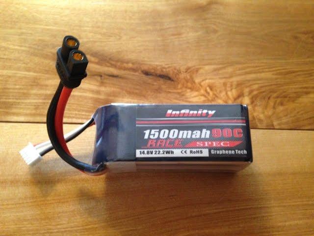 Infinity 1500mah 14.8V 90C 4S Race Spec Packs
