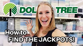 Find DOLLAR TREE JACKPOTS in ANY store! 🤯 (genius secrets from a pro for 2021!)