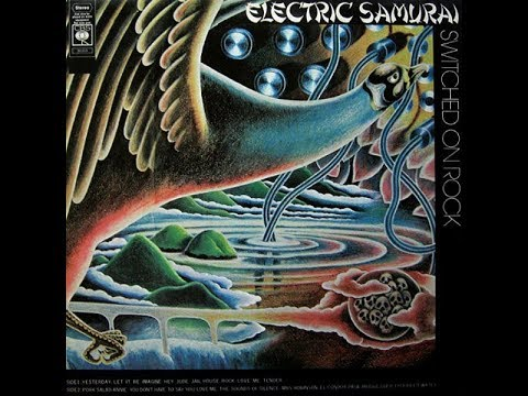 Electric Samurai Tomita,  Switched On Rock 1974 (vinyl record)
