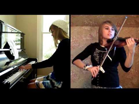 James Bond Skyfall Theme (Violin and Piano Cover) Taylor Davis and Lara