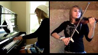 James Bond Skyfall Theme - Violin and Piano Cover, Taylor Davis and Lara