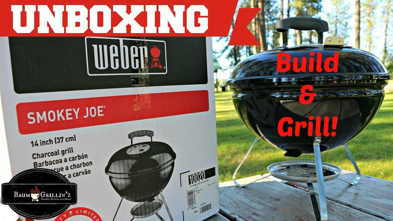 Weber Holzkohlegrill Smokey Joe Test : Weber smokey joe assembly how to assemble a smokey joe build and