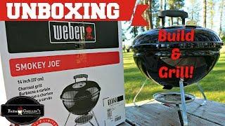 Weber Smokey Joe Assembly | H๐w To Assemble A Smokey Joe | Build And Grill