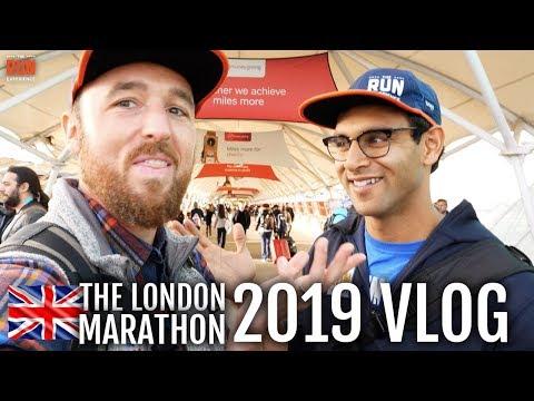 London Marathon Vlog Day 1- Running, Athlete Meetups, And Eating Everything
