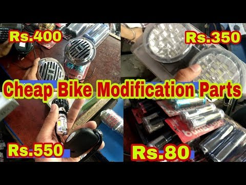 Cheap Bike Modification Parts || Modify your bike in Cheap Price || Jazz Vlogs