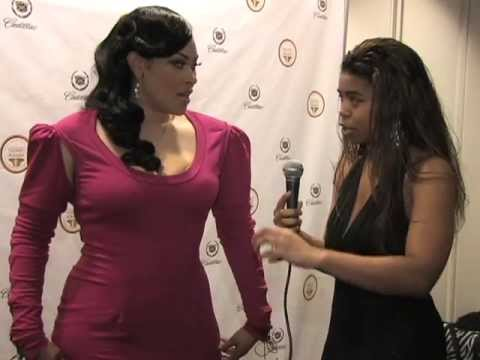 Keke Wyatt & Michael McMillian at the 2013 Trumpet Awards