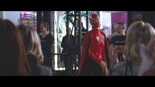 Olivia Wilde and her mask Video