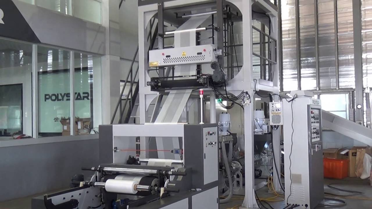 ABA 3 layers co-extrusion blown film machine