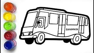 Belajar Menggambar Alat Transportasi