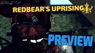 ⭐️Five Nights at Freddy's - Redbear's Uprising PREVIEW   Bertbert⭐️