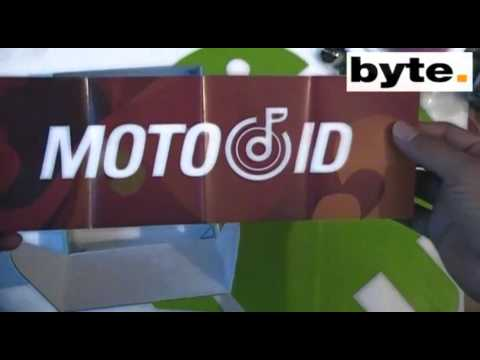 Motorola Backflip (MB300) unboxing