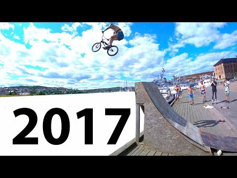 MY GREATEST BMX TRICKS OF 2017!