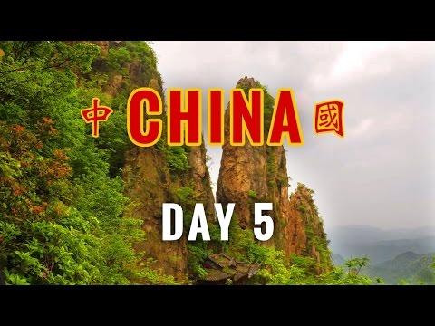 China Vlog Day 5 // Climbing Xian Hua Mountain // 2017.4.25 Tuesday
