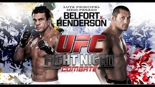 Video da Luta UFC Vitor Belfort x Dan Henderson melhores momentos 10/11/13