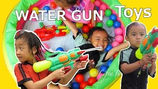 Shower Ball Water Pistol Toys Girls and Boys ❤ Learn Nyny Johny Johny Yes Papa