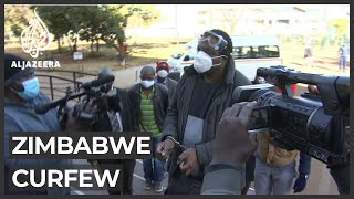 Zimbabwe imposes curfew to tackle COVID-19