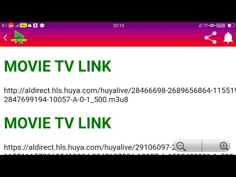 HOLLYWOOD MOVIES LIVE STREAMING TV CHANNELS M3U8 LINK FREE 2019