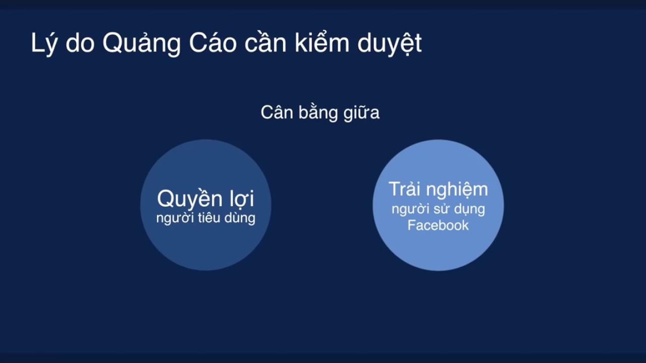 Chính sách Quảng cáo Facebook Phần 1: Quy trình kiểm duyệt và những lưu ý