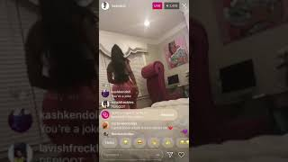KASHDOLL ON IG LIVE (ALEXA CAN'T FIND ICE ME OUT !)