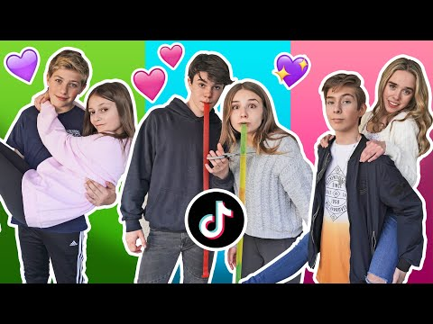 Recreating VIRAL Couples TikToks With My CRUSH Challenge **Try Not To CRINGE** | Piper Rockelle